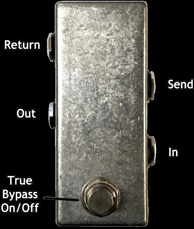 Mini FX Loop Pedal Labels