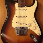 3 ply cream 12 string strat pickguard
