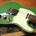 3 ply mint green tele custom scratchplate