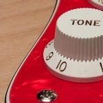 3 ply pearl red pickguard