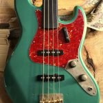 ② 4 ply Vintage Celluloid Red Tort jazz bass