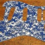 Pearl Ocean Blue scratchplate