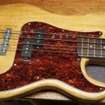 4 ply tort P bass pickguard