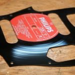 LP record jaguar pickguard