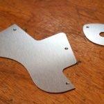 Bob Marley aluminium football scratchplates