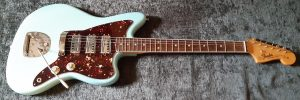 ③ 4 ply Vintage Celluloid Brown Tort jazzmaster pickguard