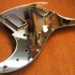 Ibanez Blazer Loaded custom mirror pickguard