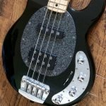 stringray sparkling black pickguard