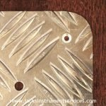 treadplate aluminium scratchplate